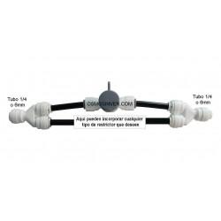 SISTEMA de Autolimpieza o Flusing Manual para osmosis inversa (no incluye restrictor)