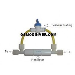 Restrictor 300ml con Autolimpieza o Flusing Manual
