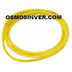 Tuberia color amarillo de 1/4 o 6mm para osmosis inversa domestica