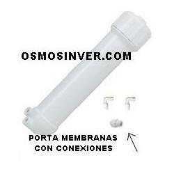 Porta membrana osmosis inversa domestica desde 10 gpd hasta 100 gpd mod standard 1812