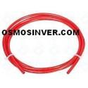 Tuberia color Roja de 1/4 o 6mm para osmosis inversa domestica