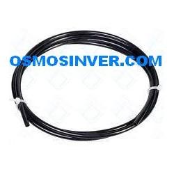 Tuberia color Negro de 1/4 o 6mm para osmosis inversa domestica