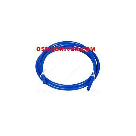 Tuberia color azul de 1/4 o 6mm para osmosis inversa domestica