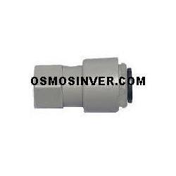 Conexión rapida 1/4 - 6mm para grifo osmosis inversa tubo