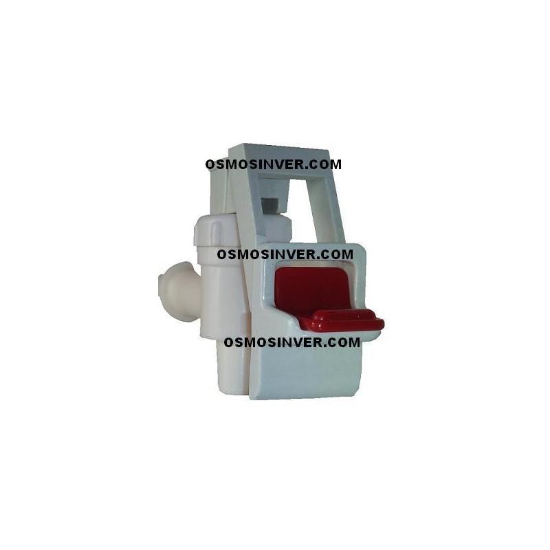 Grifo pulsador de agua caliente o izquierdo para fuente for Grifos para osmosis