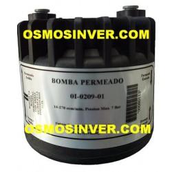 Bomba de presión hidráulica o permeado