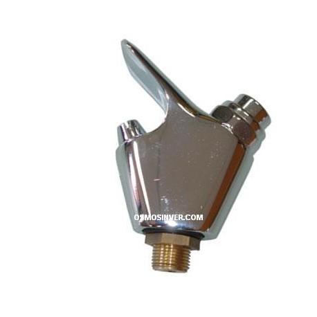Grifo pulsador para fuente de agua fria