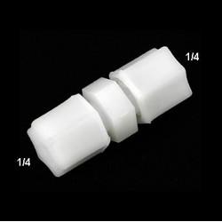 Unión tubo 1/4 (6mm) a tubo 1/4 (6mm)