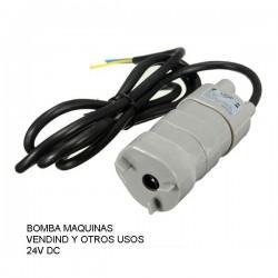 Bomba de agua Sumergible para maquinas vending 24v DC