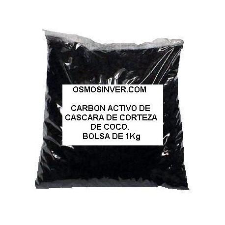 Carbon activo GAG granulado, BOLSA 1 KG