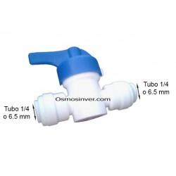 Llave de paso tubo 1/4 o 6,5mm