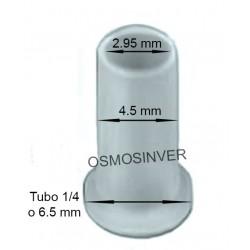 Canula insert , canula para introducir en tubo de 6mm o 1/4