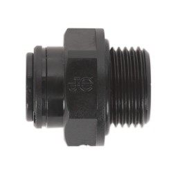Recta CONEXION RAPIDA rosca macho 1/2 (20,5mm), tuberia 10mm para osmosis inversa domestica , JONG GUEST