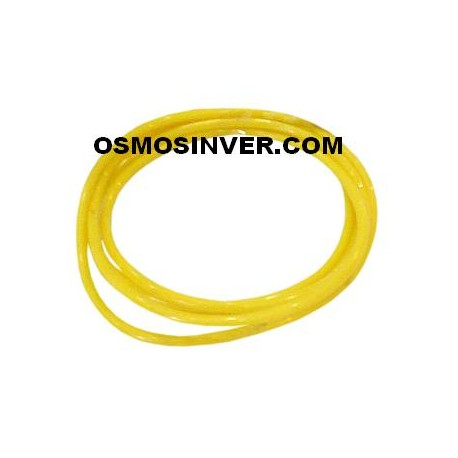 Tuberia color amarillo de 1/4 o 6,5mm para osmosis inversa domestica
