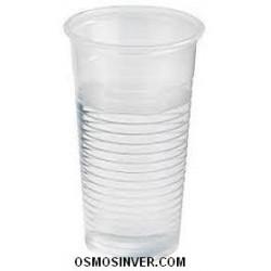 Vaso transparente 220cc para agua