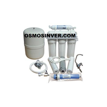 Depuradora de osmosis inversa domstica de 5 etapas ap-21