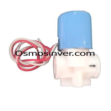 Electroválvula 24V DC para fuente de osmosis inversa de una, dos y tres temperaturas