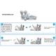 Bandeja con Sistema Antifugas mecanico para Osmosis Inversa domestica