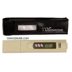 Medidor TDS para calidad de agua + temperatura ºC y ºF