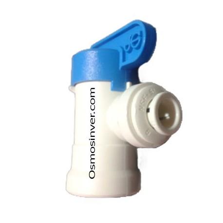Llave depósito para tubo de 6mm o 1/4