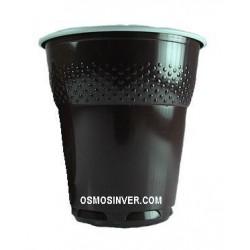 Vaso bicolor, MARRON OSCURO, 150 cc. valido para maquina automatica y manual