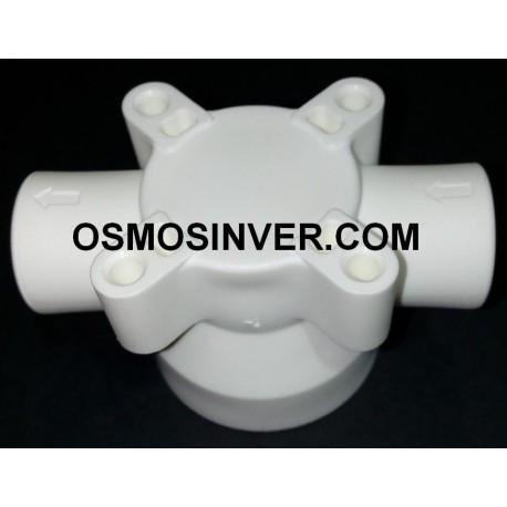 """Juego 3 Filtros osmosis inversa de bayoneta cck T-550 10"""" SERIE(M)"""