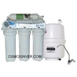 Depuradora de osmosis inversa domestica de 5 etapas ap-06 sin bomba