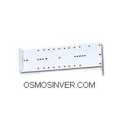 Soporte metalico para 3 filtros para depuradora osmosis 5 etapas