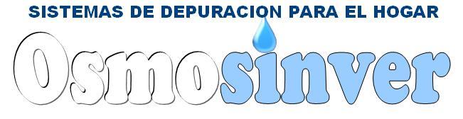 Sistemas de depuracion, y materiales de Osmosis Inversa Domesticos